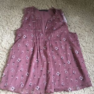 NWT ABERCROMBIE AND FITCH SLEEVELESS BLOUSE